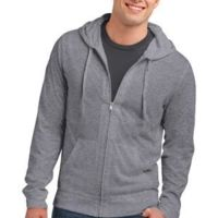 Young Mens Lightweight Jersey Full Zip Hoodie Thumbnail