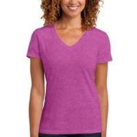 ™ Ladies Perfect Blend ™ V Neck Tee Thumbnail