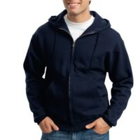 Super Sweats ® Full Zip Hooded Sweatshirt Thumbnail
