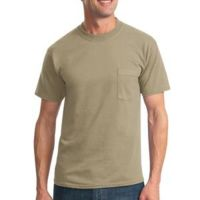 Heavyweight Blend ™ 50/50 Cotton/Poly Pocket T Shirt Thumbnail