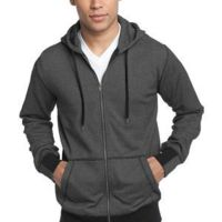 ™ Mens Mini Stripe Full Zip Hoodie Thumbnail
